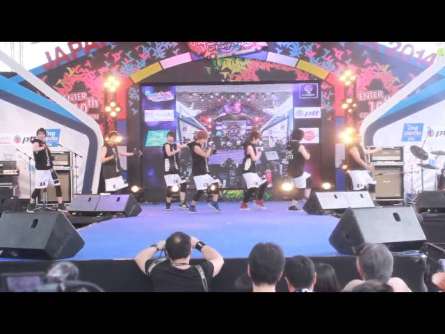 Potato Chipz Cover GENERATIONs from EXILE Tribe @ Japan Festa 2014 Part 1