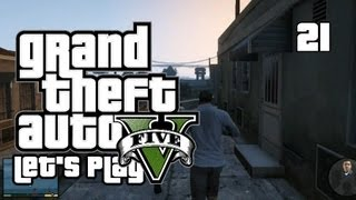 GTA V - Let's Play/Walkthrough - Mission 23: Hood Safari - #21 (GTA 5 Gameplay)