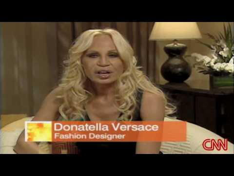 Donatella Versace - CNN Interview - Part 1/3