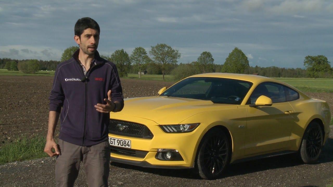 Ford Mustang (5.0 V8)   La macchina del buon umore! - YouTube