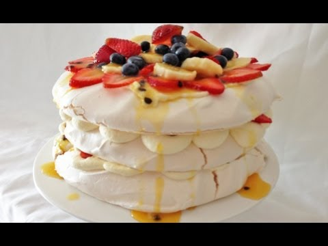 Pavlova Recipe Easy Dessert Pavlova How To Cook That Ann Reardon