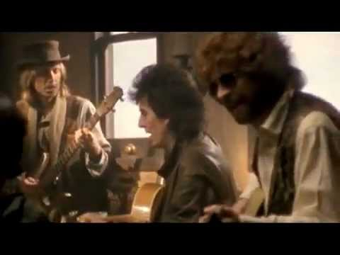 Traveling Wilburys Harrison Orbison Dylan Petty Lynne Keltner End Of The Line Hq