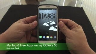 Top 6 Free Apps On My Samsung Galaxy S3
