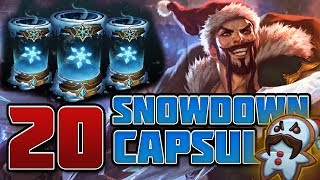The Value of Snowdown Capsules