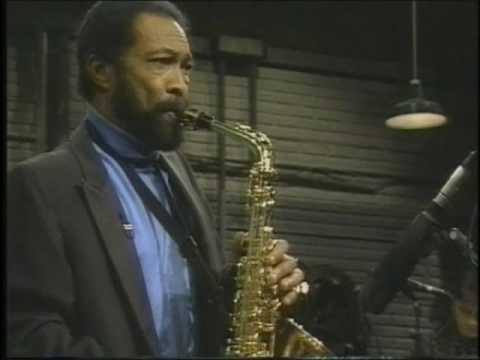 Hank Crawford playing