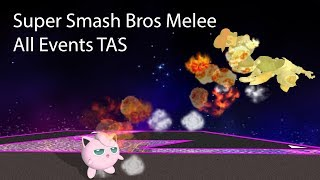 Melee All Events TAS 29:00.051 (18:55.108 IGT) [OLD]
