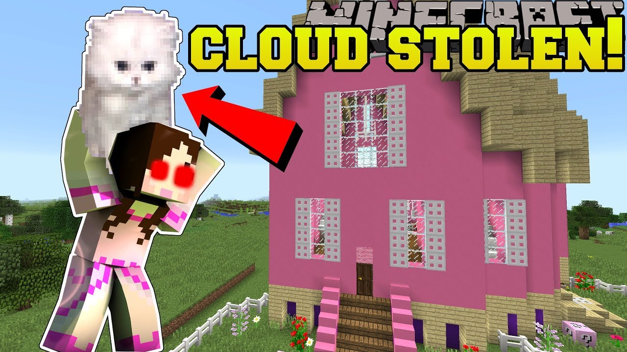 Minecraft: CLOUD IS STOLEN!!! - JEN'S CLOUD QUEST - Custom Map