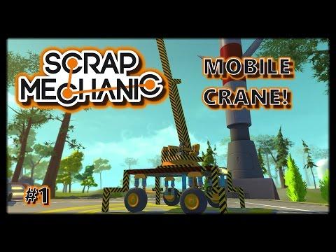 MOBILE FOLDING CRANE   Scrap Mechanic #1