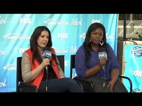 Kree Harrison & Candice Glover - Top 2 - American Idol Season 12