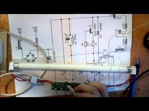 Ремонт ламп дневного света своими руками 356