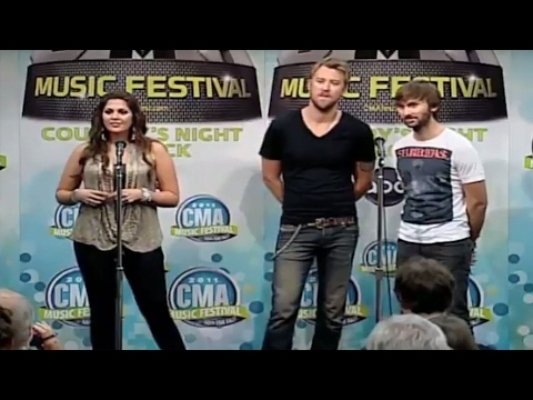 Lady Antebellum extended interview - CMA Music Festival TV Aug 14 on ABC!