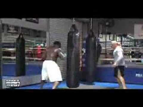 Kimbo Slice training by Bas Rutten Image 1