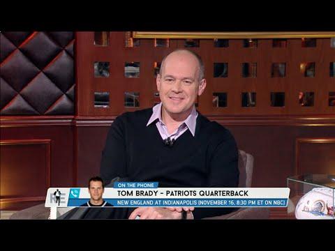 Patriots' QB Tom Brady Calls The RES - 11/5/14