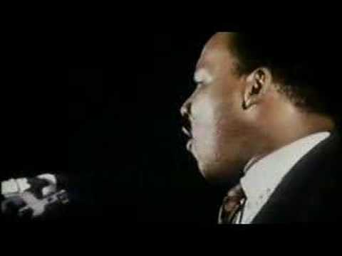 Martin Luther King, Jr.'s last speech