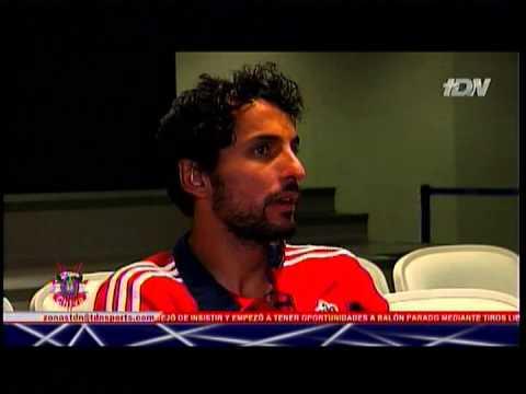 Reportaje de Chapis con Luis Ernesto Michel en Zona Chiva de TDN, 26 de febrero de 2013