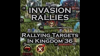 Iron Throne - Invader Rallies, Rallying Targets in K36, and Ctesse Solos Everybody