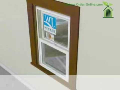 Jeld-Wen Vinyl Replacement Window Installation - How To