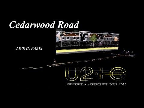 U2 - Cedarwood Road _ LIVE IN PARIS