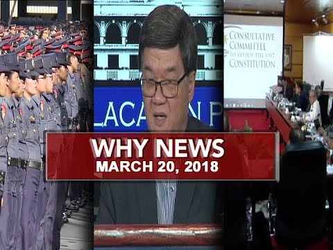 UNTV: Why News (March 20, 2018)
