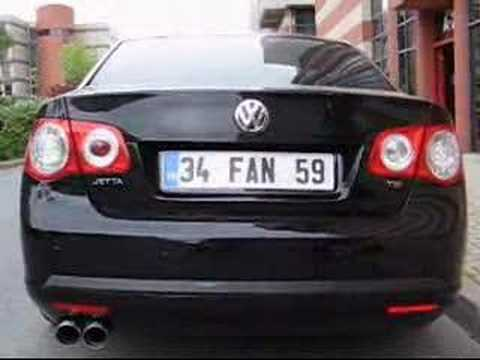 VW Jetta 1.4 TSI BORLA Exhaust by Akaylar Turkiye