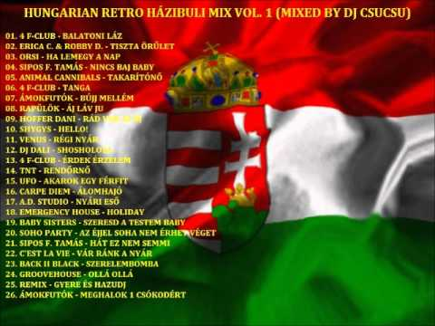 HUNGARIAN RETRO HÁZIBULI MIX VOL. 1 (MIXED BY DJ CSUCSU) PROMO!