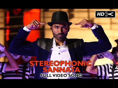 Stereophonic Sannata (Official Video Song) | SHAMITABH | Dhanush & Akshara Haasan