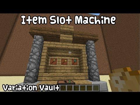 Minecraft Bukkit Plugin - Item Slot Machine - Create working slots in minecraft!