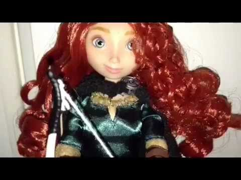 Brave doll review (Disney store)