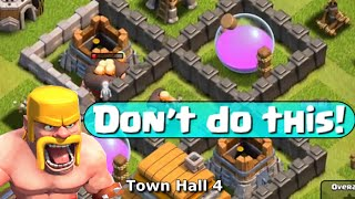 Clash of Clans Town Hall 4 Strategy - Let
