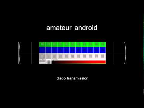 amateur android: disco transmission