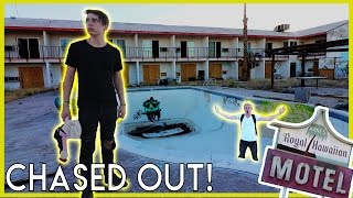 EXPLORING AN ABANDONED HOTEL