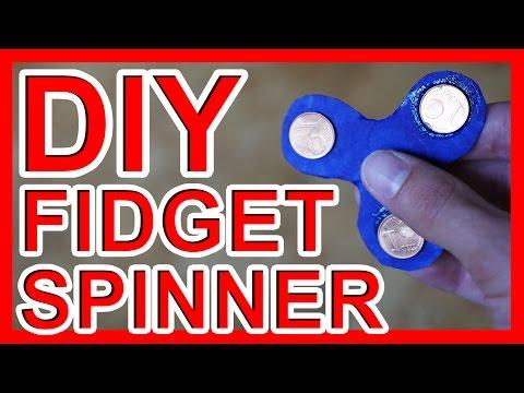 FIDGET SPINNER DIY - Finger Kreisel Selber Machen
