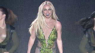 Britney Spears Cried Backstage After Man Stormed the Stage and Was Body Slammed by Security