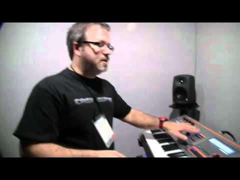 NAMM2012 - Casio XW-P1 Synthesizer