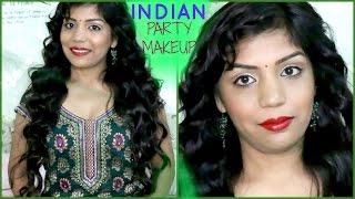 How To Do Indian Party Festive Makeup Tutorial  | SuperPrincessjo