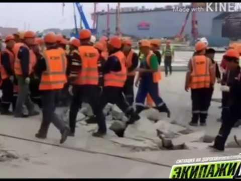 """На заводе """"Звезда"""" корейские рабочие побили русских"""