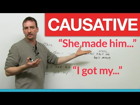 English Grammar – Causative