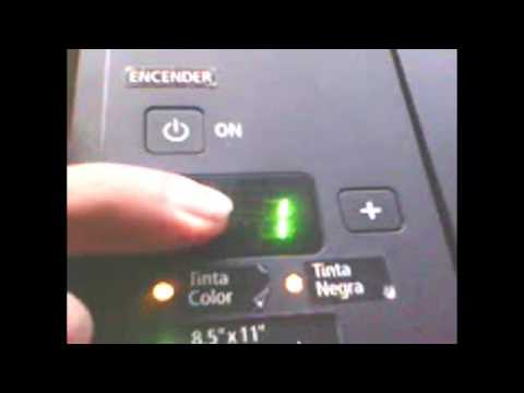 Como Solucionar error P07 E08 de la impresora canon mg3210 mp280