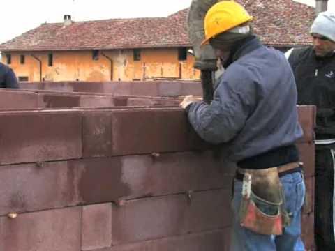 B 03 02 getto cls blocchi sistema bio for Semplici piani di casa in blocchi di cemento