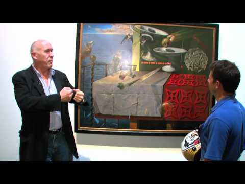 Oriol Servia tours the Dali Museum