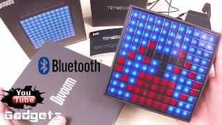 Супер LED Bluetooth Колонка Divoom Timebox посылка из Китая обзор