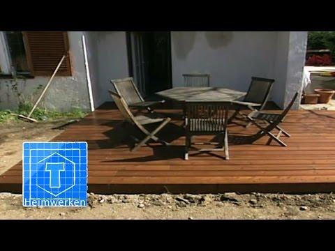Holz-Terrasse Selber Bauen | ToolTown Heimwerken
