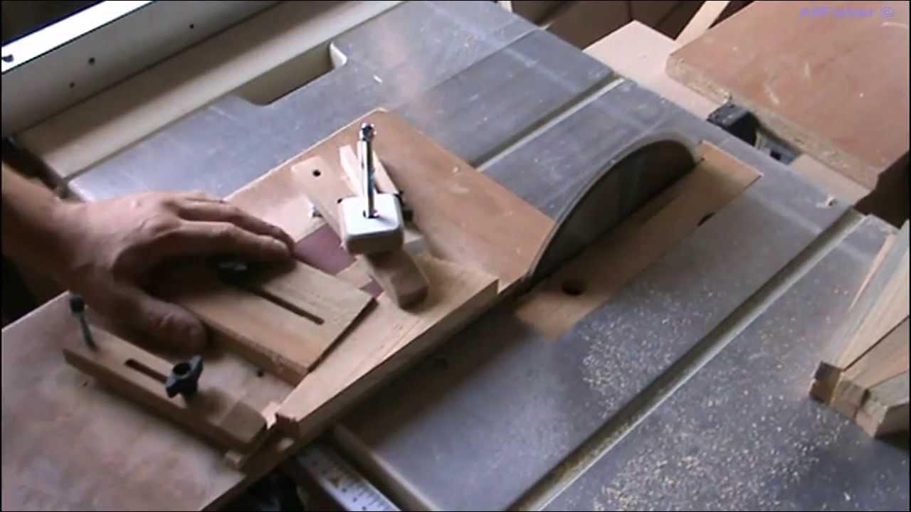Как сделать косой распил