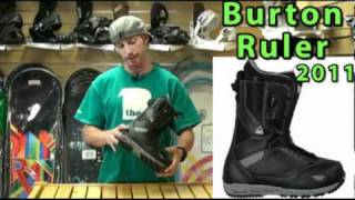 2011 Burton Ruler Boot Review
