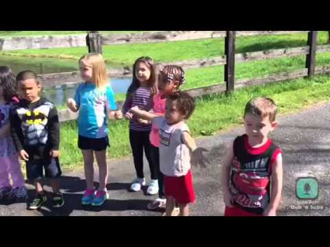 """We Like To Recycle"" PSA video Apple Dumpling Pre-k 2015"