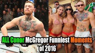 Conor McGregor FUNNIEST Moments
