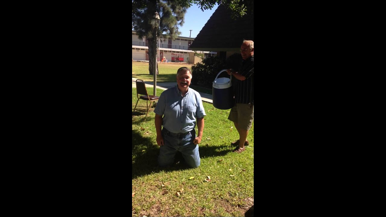 Rev. Floyd McKeithen accepted the Ice Water Challenge in support ...