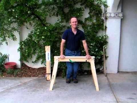 Best Folding Sawhorse Plans