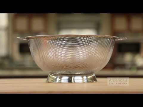Equipment Review: Best Kitchen Colanders / Pasta Strainers & Our Testing Winner