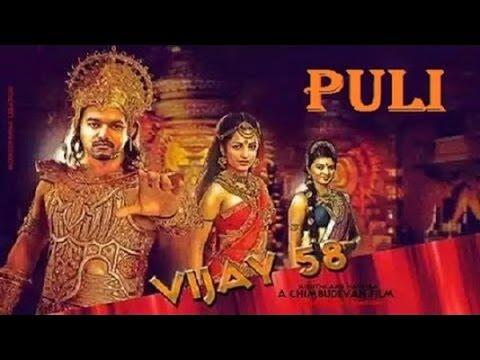Is Vijay Acting In 3 Different Roles For 'puli'?-skt Studios Tweet video